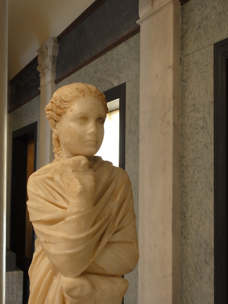The Roman Muse Polyhymnia, Getty Villa