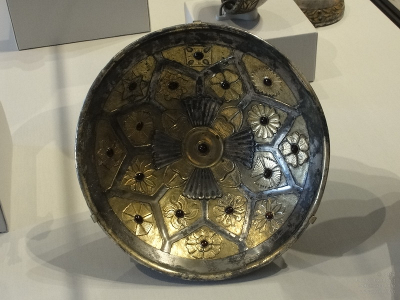 "Parthian Net-Pattern Bowl, ""100 - 1 BCE"", Getty Villa"