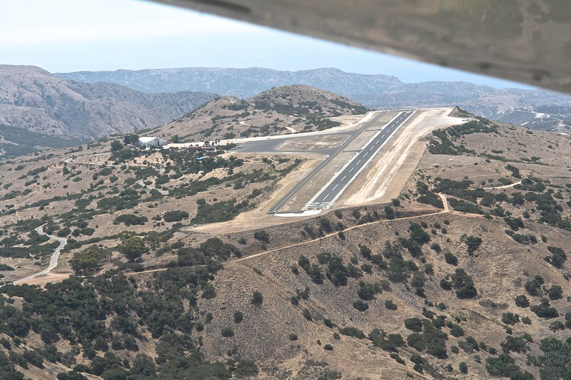 Approach to Catalina Island