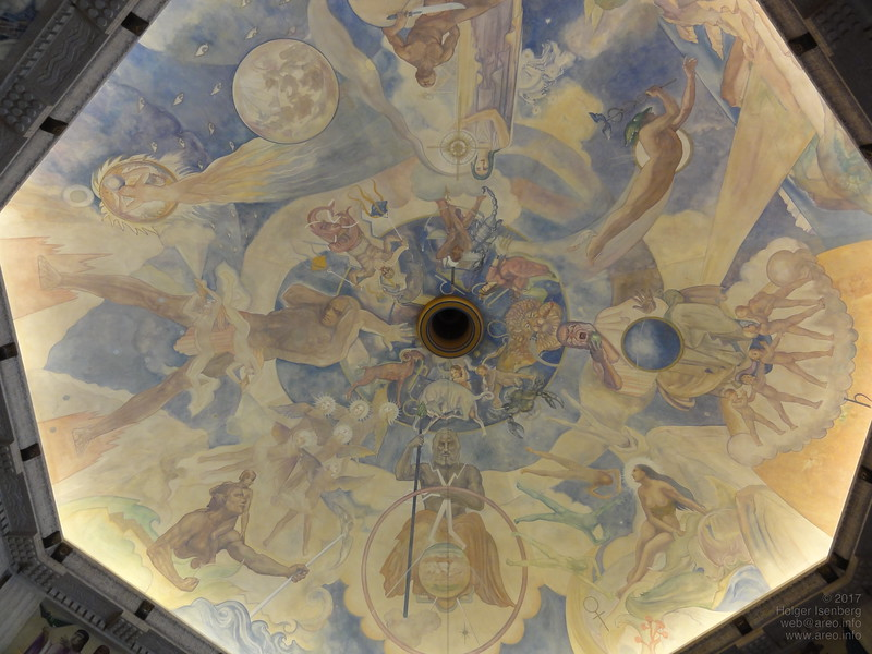 Dome Painting, Griffith Observatory