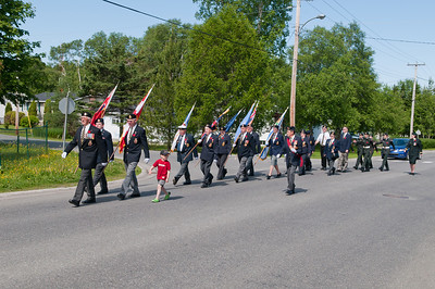 Memorial Day Parade on Tenth Avenue