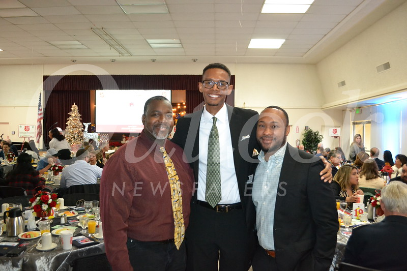 Aaron Wheeler, Christian Daly and Dominick Correy