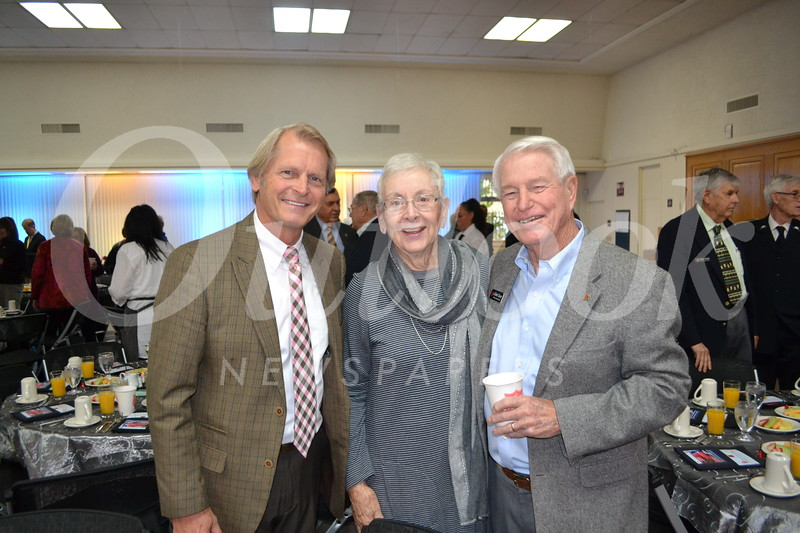 Ernie Mauritson with Ruthie and Bob Cheney