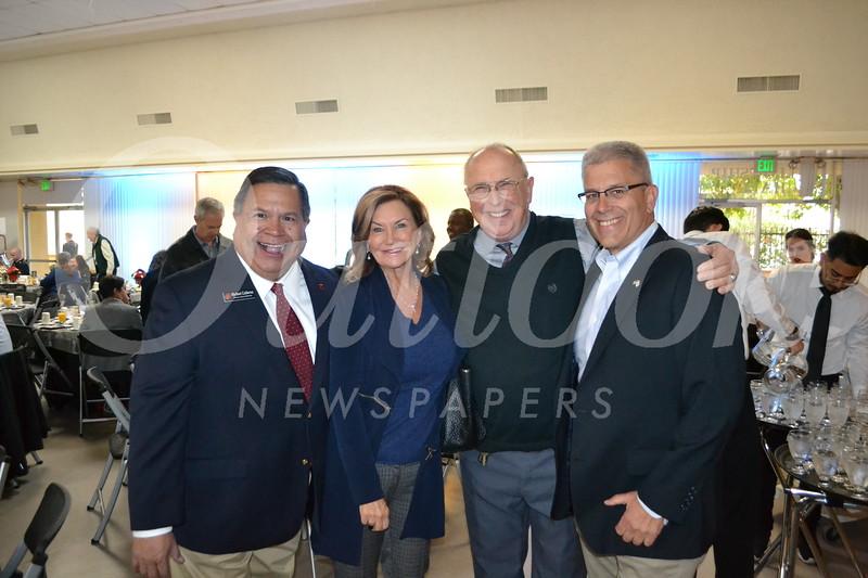 Mike Calderon, Sindee Riboli, W.J. Kelso and Rich Balnen