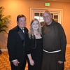 Bob and Beth Huston with Father Tony Marti