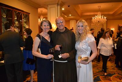 Charlotte Stratz, Father Tony Marti and Michelle McGoldrick