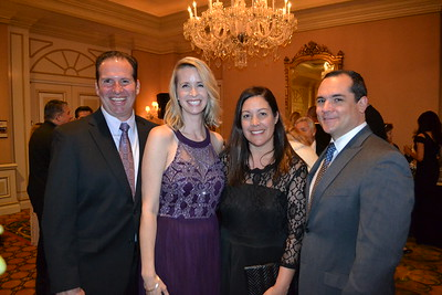 Joel and Alicia Johnson with Gina and Ernie Cruz