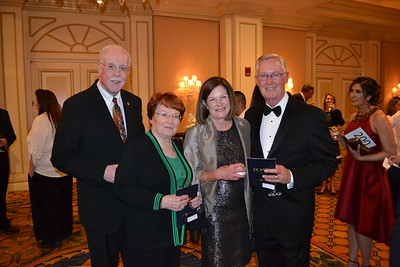 Larry and Patti Gray with Claire and Jim Brewer