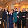 Father Tony Marti, Mike and Julie Delucia, Helena and Kevin Danni, Mark Snashall and Father Matt Elshoff