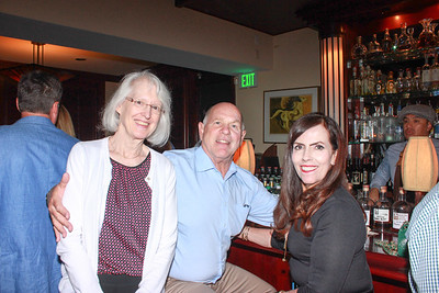 Dr. Diane Cullinane with Ernie and Marcia Hoffer
