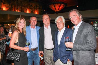 Pam and Paul Johnson, Joe Gill, Bob Baffert and Gregg Smith