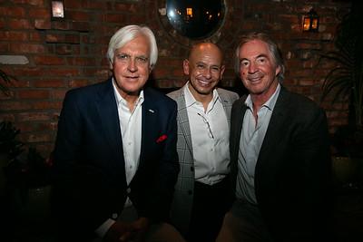Bob Baffert, Mike Smith and Gregg Smith -courtesy Nick Boswell