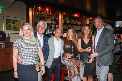 Jill and Bob Baffert, Mike Smith and Cynthia Naanouh, and Chelby Crawford and Gregg Smith