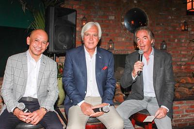 Mike Smith, Bob Baffert and Gregg Smith