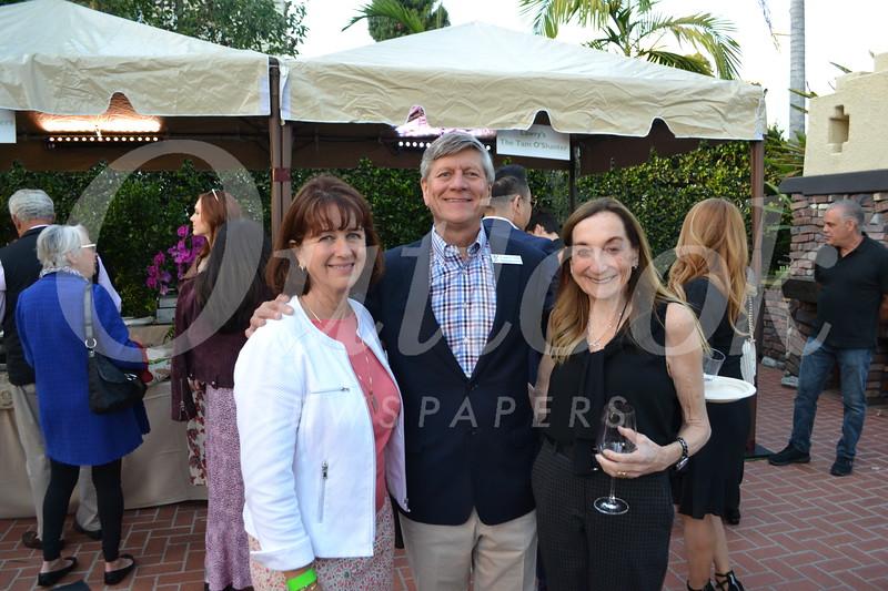 Kathleen Schaefer and Richard Fink with Gale Kohl