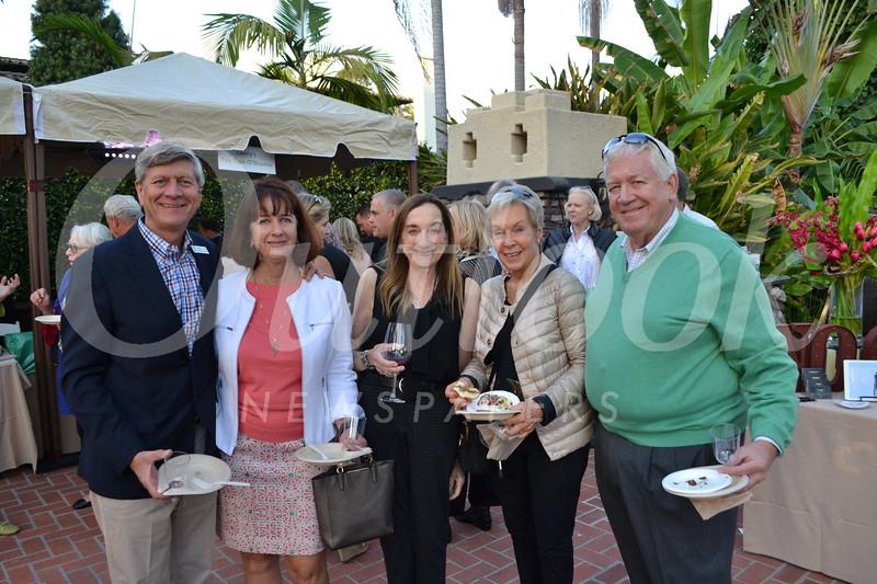 Richard Fink and Kathleen Schaefer, Gale Kohl, and Gail and Jim Ellis
