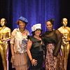 Fashion coordinator Grace Goodson-Witcher, Char Bland and Regina Robertson