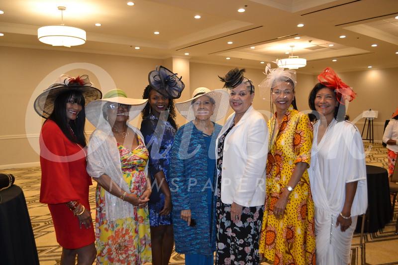 Phyllis Scotton, Ida Simms, Warlena Bryant, Thelma Choto, Sandra Teasley, Deborah Bryant and Carla Williams
