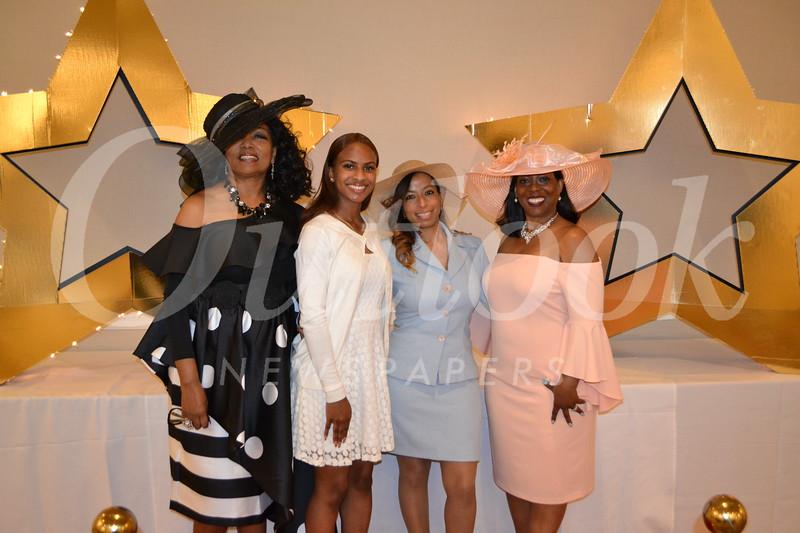 Cheryl Myers, Lela and Shalonda Theus, and Ashana Thorman