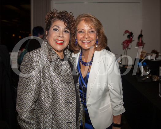 Debi Gutierrez and Head of School Julia Fanara