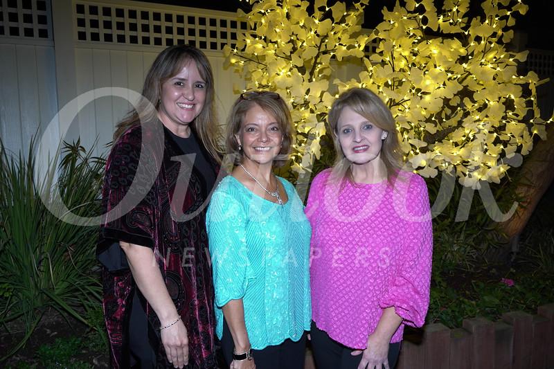 Susanna Torres, Julia Fanara and Julie Dyer-Lopez