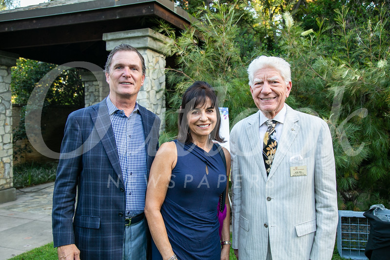 Joe and Diana Eisele with Ken Hill