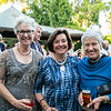 Sally Miller, Annette Serrurier and Kathy Miller