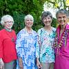 Jill Berry, Peggy Stewart, Suzie Wilson and Fran Shellgren