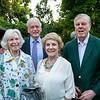 Jill and John Walsh with Anita and Haley Fromholz