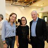 Gale Kohl, incoming Armory Executive Director Leslie Ito and Harvey Knell