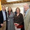 Former Pasadena Mayor Bill Bogaard, city Cultural Affairs Division Manager Rochelle Branch, and Mary and Bill Urquhart