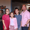 Leslie Ito with her family Zoe, Rockett and Steven Wong