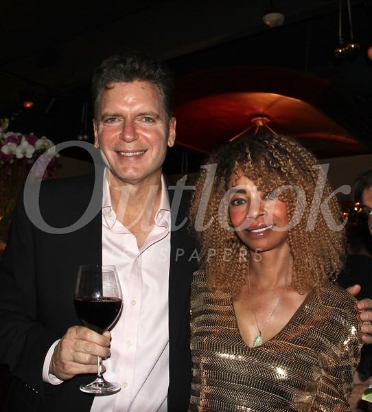 Steve and Beatrice Usher