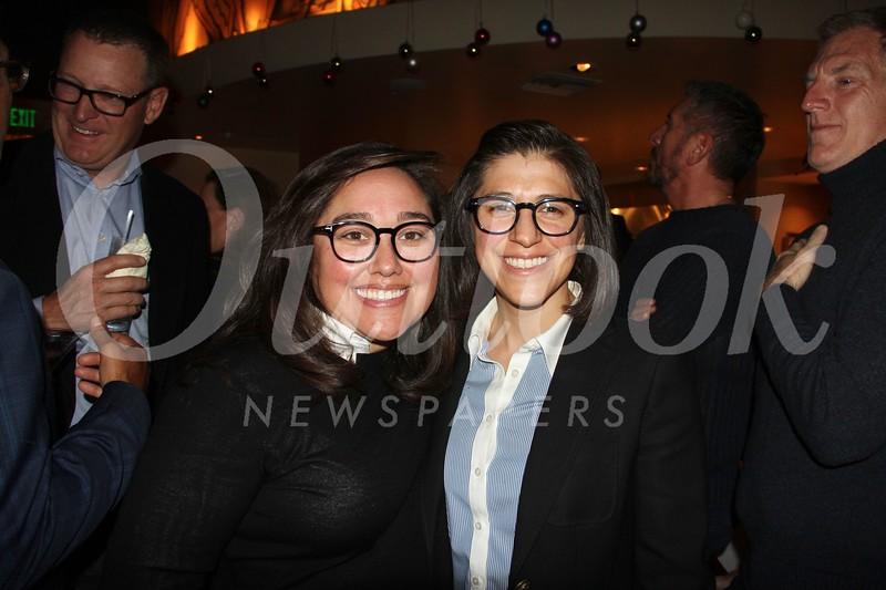 Elizabeth Torres and Jenny Paredes