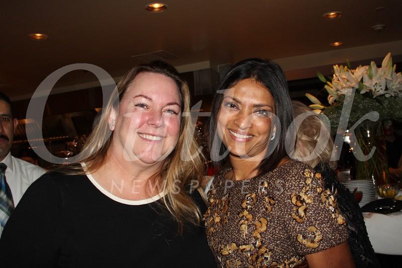 Kristin Harrison and Dr. Sushma Adarkar