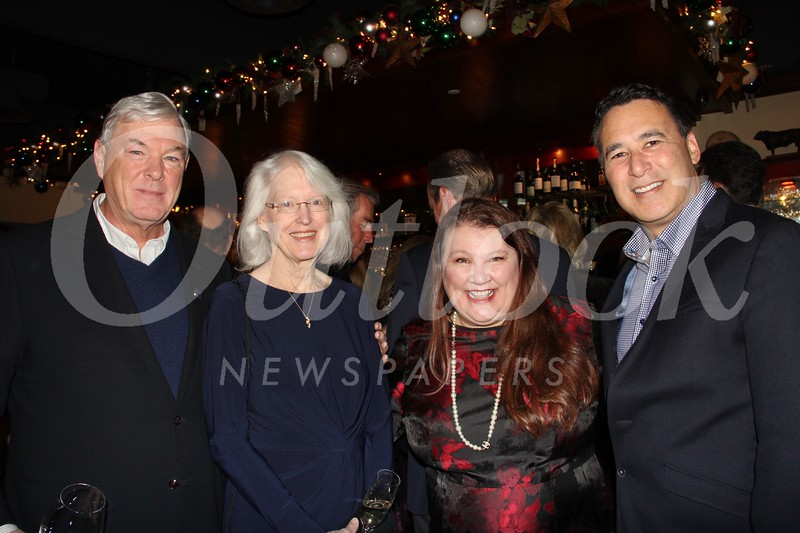 Bill and Diane Cullinane with Annette Ermshar and Dan Monahan