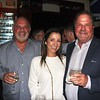 Tom and Cintia Andrejich with Bill Barney