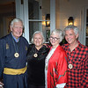 John and Judy Whiting with Phoebe and Larry Wilson