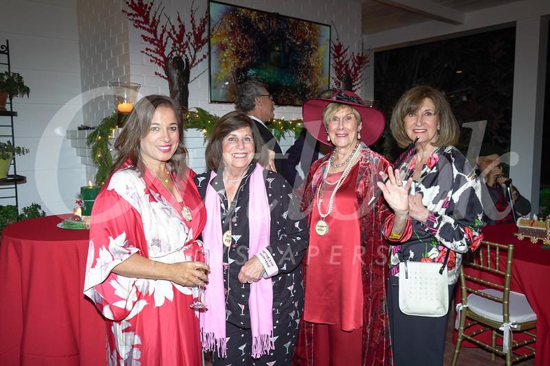 Tina Nieves, Rita Flynn, Elizabeth Berry and Clara Igonda