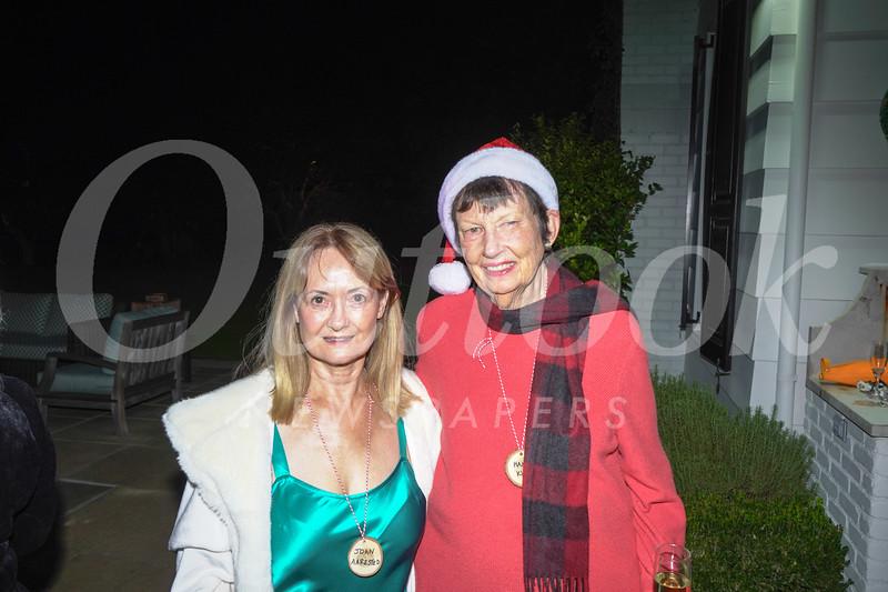 Joan Aarestad and Hannah Kully