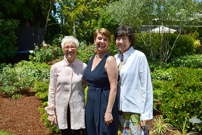 Bea Trujillo, Mia Dean and Barbara Davis