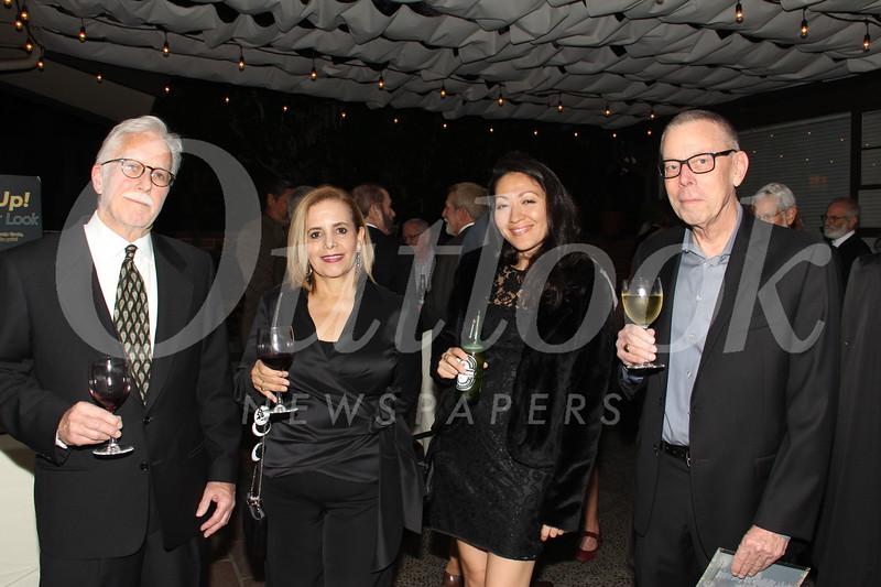 John and Patricia Ebersole, Alice Avery and Ed Sewall