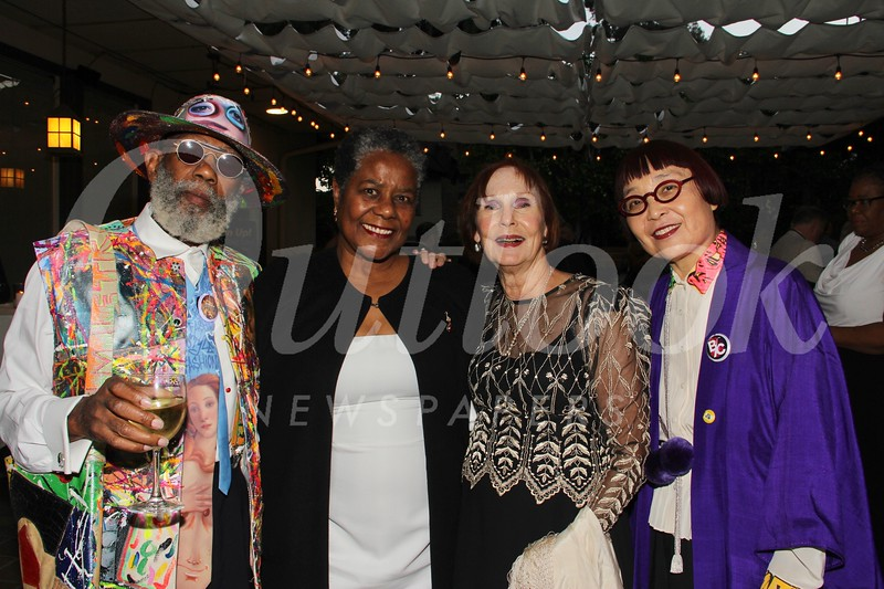 Dennis Callwood, honoree Greta Johnson Mandell, Elisabeth Clark and Keiko Fukazawa