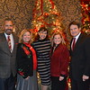 Foundation President Bill Hawkins, Executive Director Bobbi Abram, Clara Potes-Fellow, incoming PCC President Erika Endrijonas and board President Tony Fellow