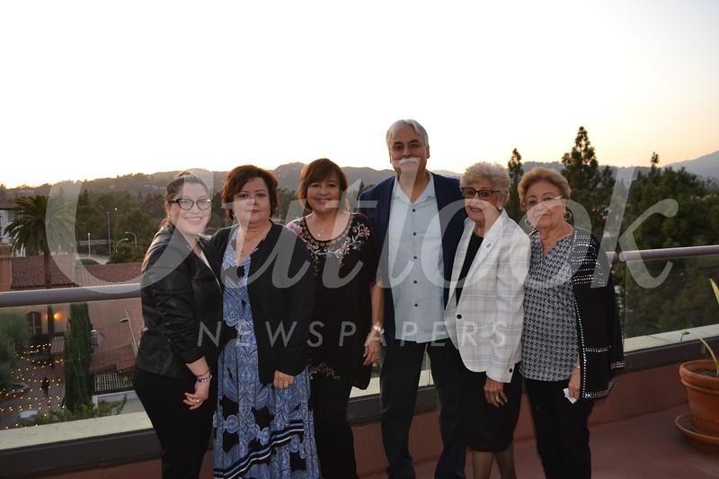 Alexis Salazar, Deborah Sustayta, Patricia and George Broomis, and Esther and Pauline Sustayta