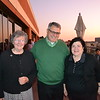 Sister Angela Hallahan, Tony Santilena and Charlene Vignes