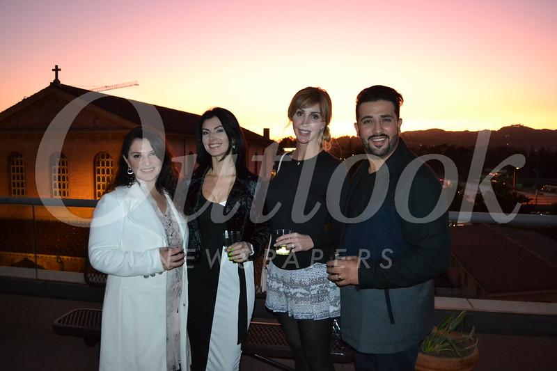 Leya Muradyan, Polina Matveeva, and Shanna and Emanuel David