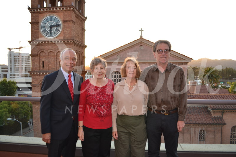 Alfred and Jeanne Paiz with Lynn and Joe Mello