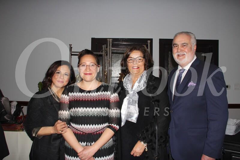 Connie Holguin, Aidée Deines, and Jane and Tom Chavez