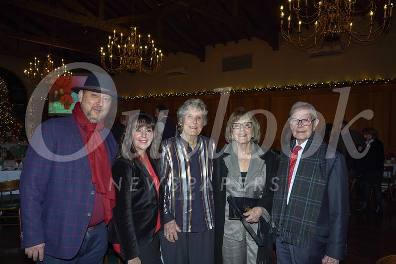 Frank Cuzakis, Dee Conde, Ann Pendo, and Carol and Bill Thomson